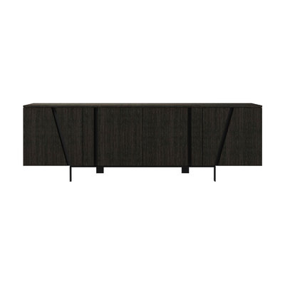 Modloft Mott Sideboard Gray Oak