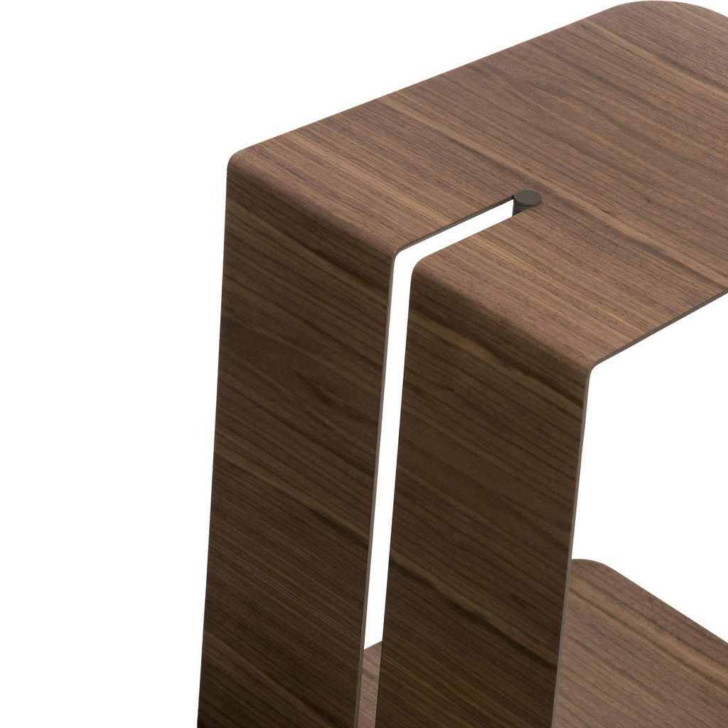 Modloft Nassau Side Table Walnut