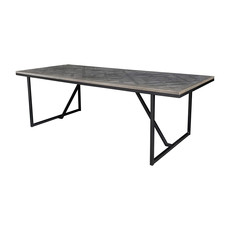 Moe's Home Collection Corrigan Dining Table with Black Base