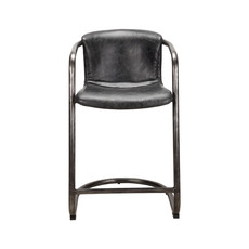 Moe's Home Collection Freeman Counter Stool Antique Black