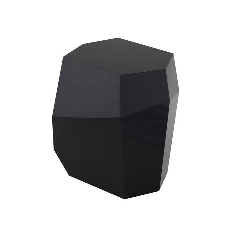 Nuevo Living Gio Side Table Black