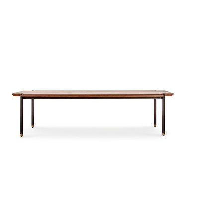 Nuevo Living Stacking Bench Hard Fumed Oak 63""