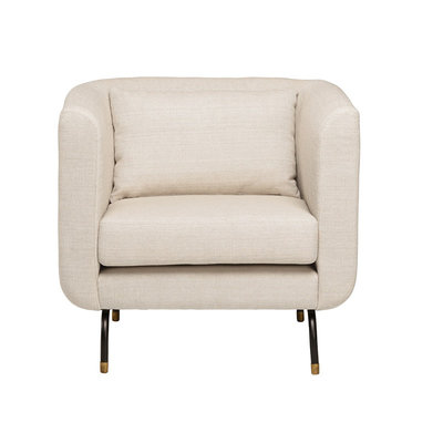 Nuevo Living Gabriel Occasional Chair Sand Fabric