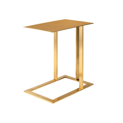 Nuevo Living Celine Side Table Brushed Gold