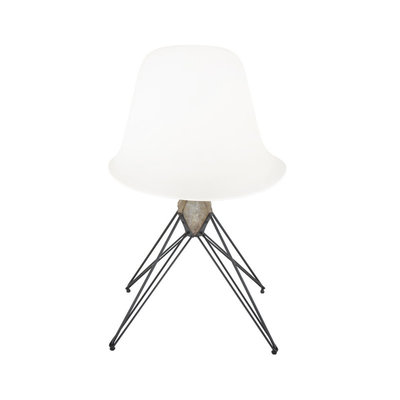 Nuevo Living Kahn Dining Chair White