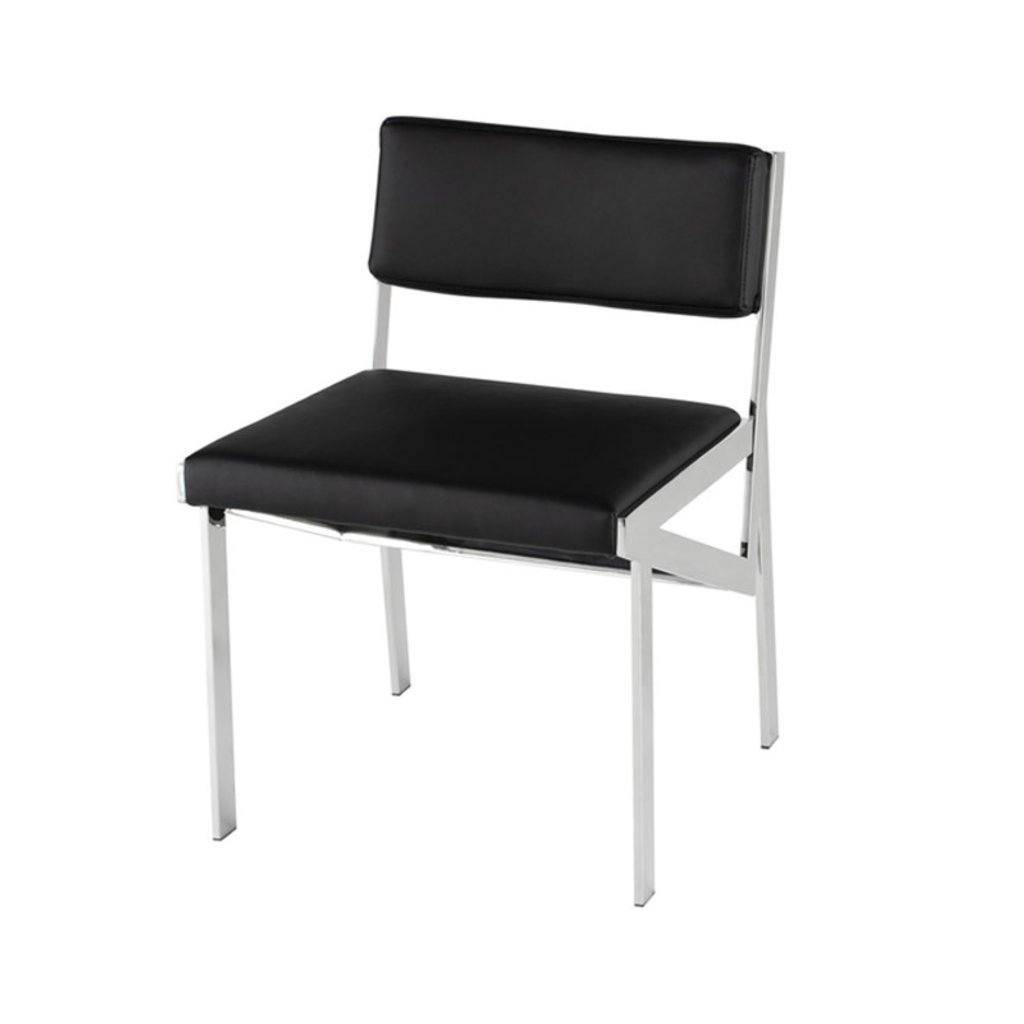 Nuevo Living Zara Dining Chair Black