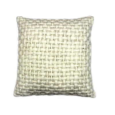 Moe's Home Collection Cozy Pillow Off White 20x20