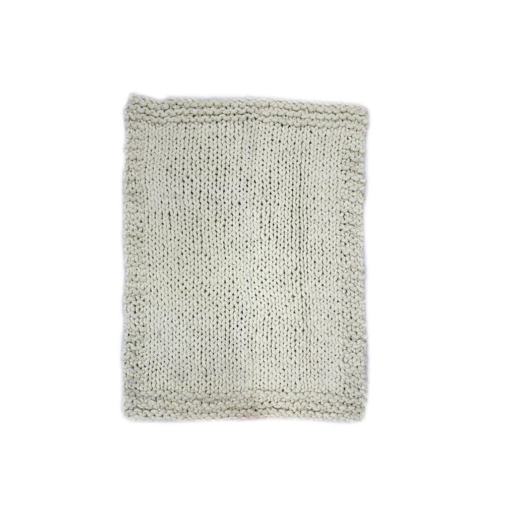 Moe's Home Collection Abuela Wool Throw Natural