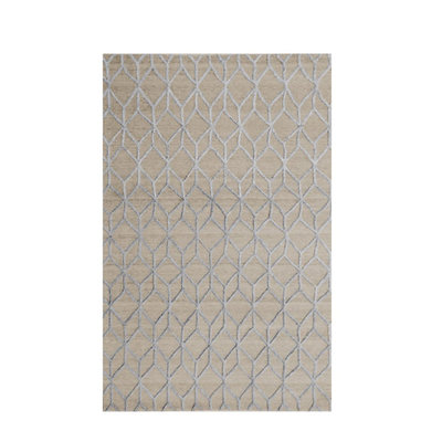 Moe's Home Collection Rhumba Rug 5x8 Cadet Grey