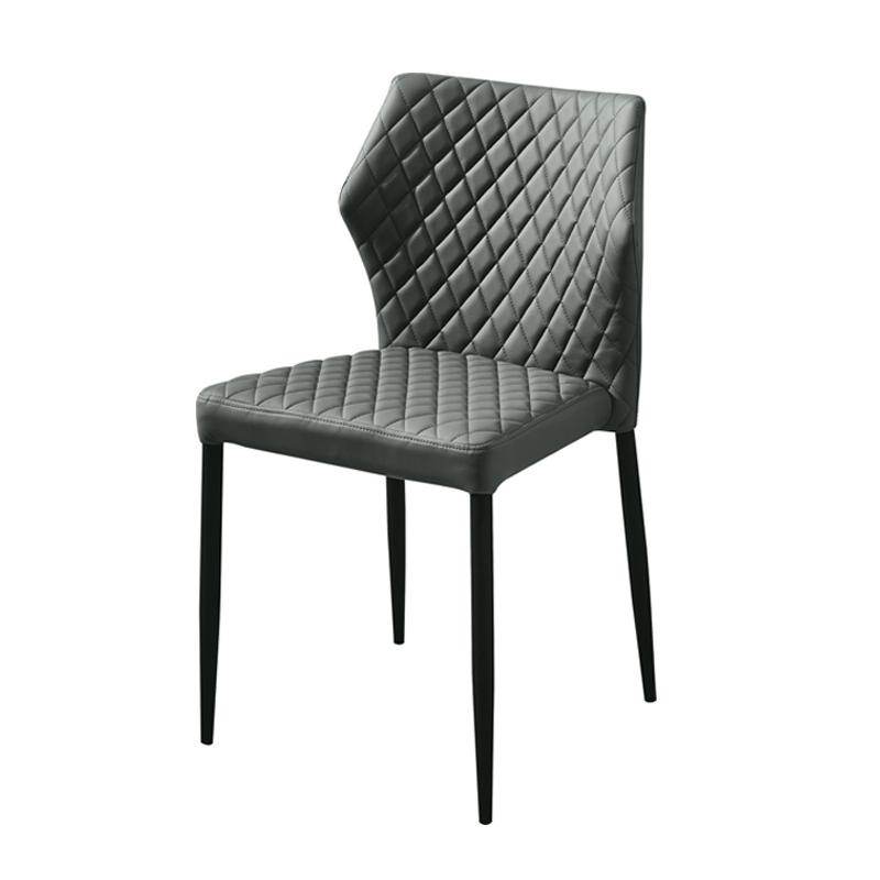Diamond Sofa Milo Dining Chair Gray