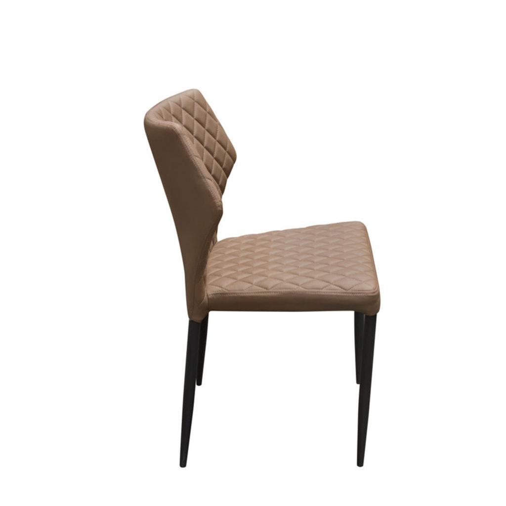 Diamond Sofa Milo Dining Chair Brown