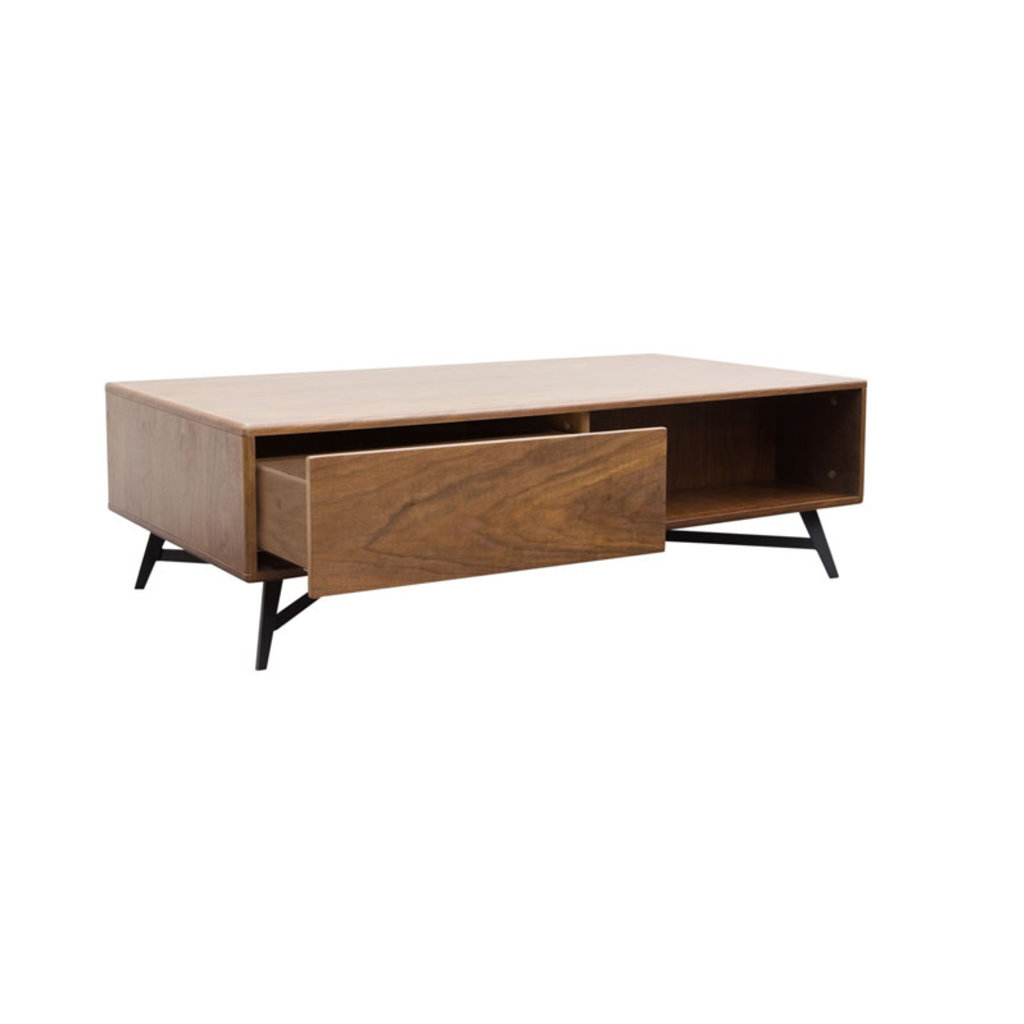 Diamond Sofa Tempo Walnut Cocktail Table