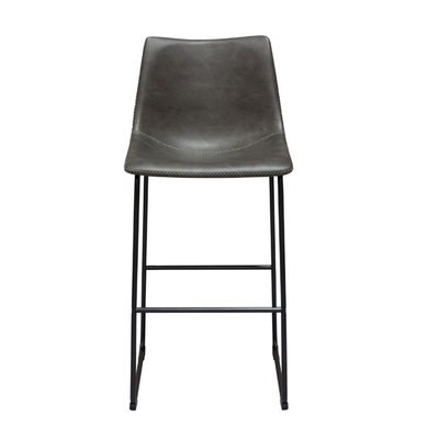 Diamond Sofa Theo Weathered Grey Bar Stool