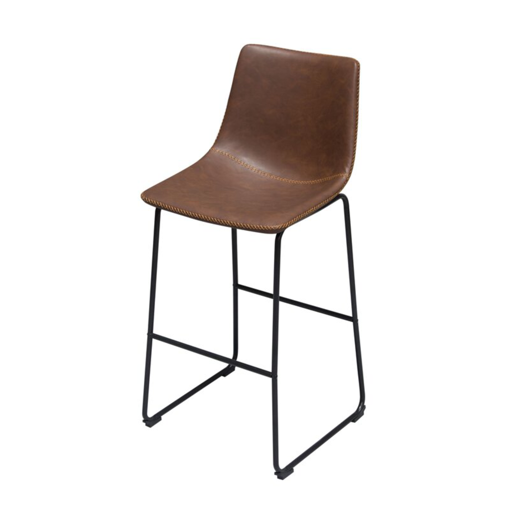 Diamond Sofa Theo Brown Bar Stool