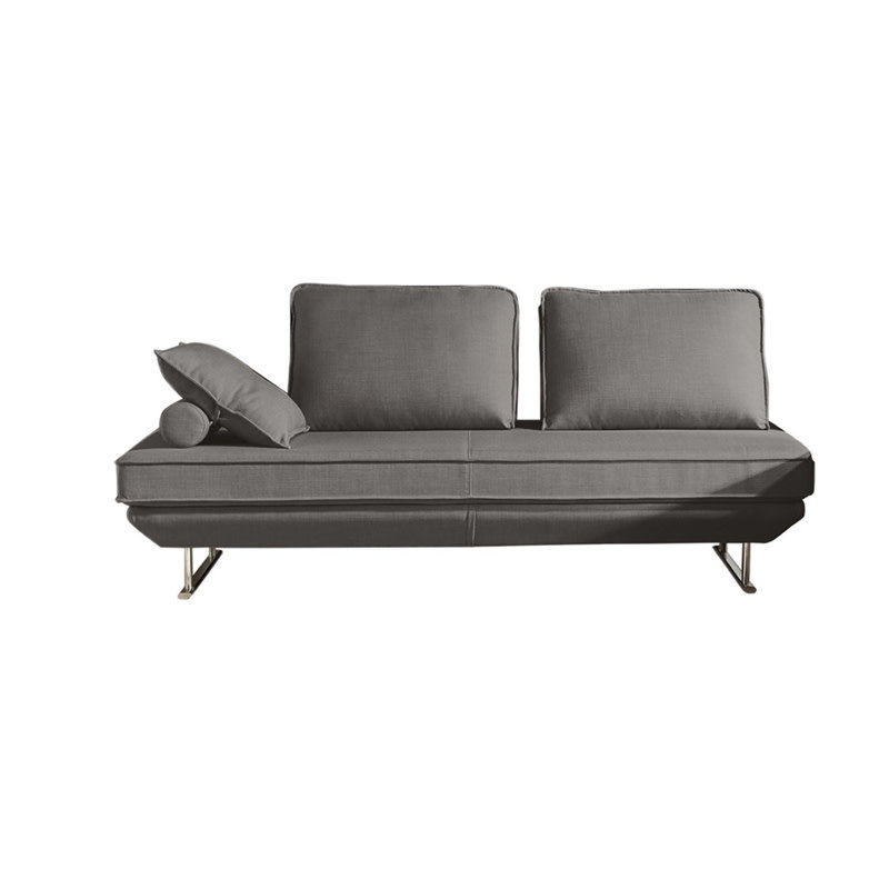 Diamond Sofa Dolce Grey Fabric Lounger