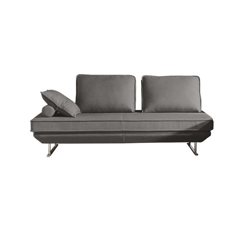 Diamond Sofa Dolce Grey Fabric Lounger