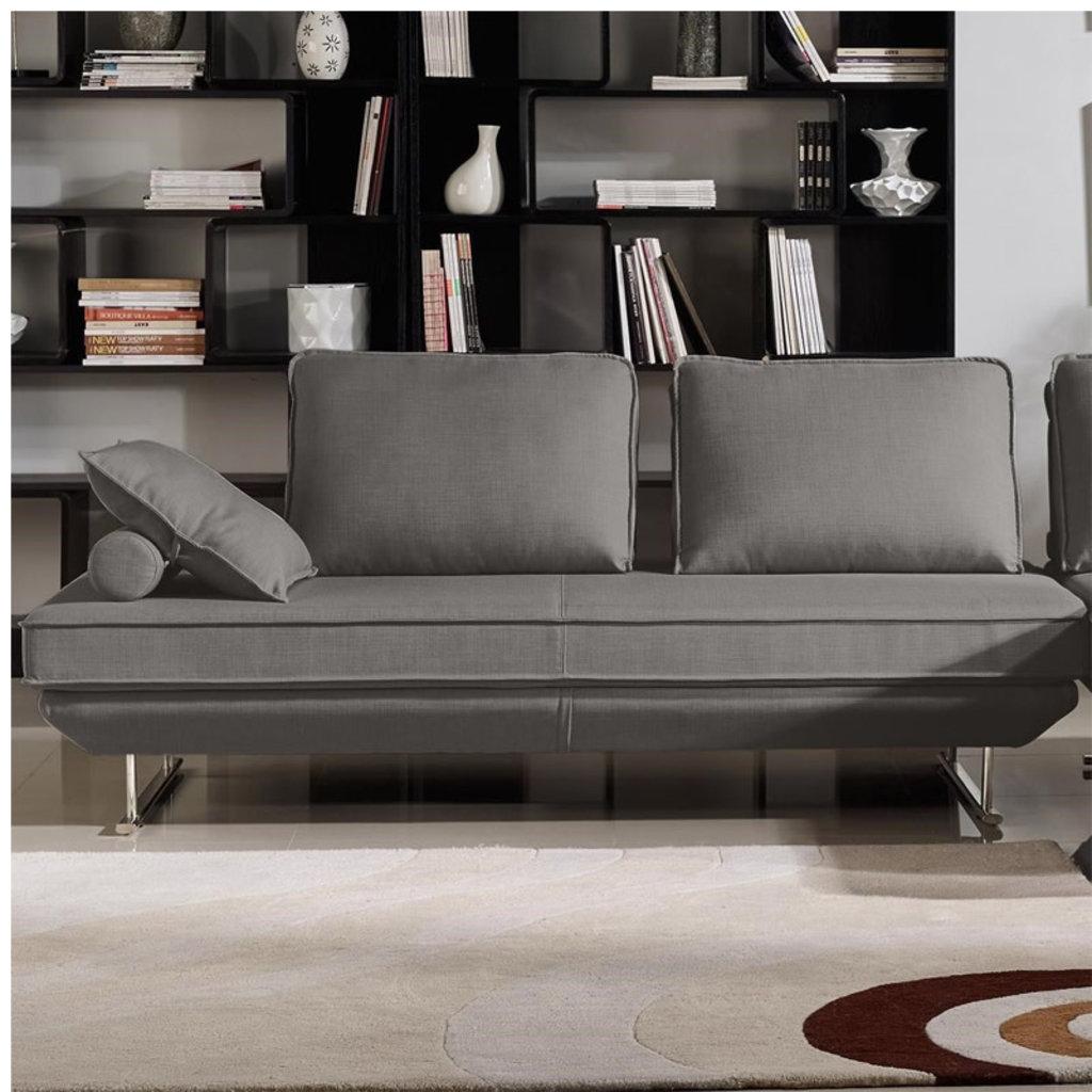 Diamond Sofa Dolce Grey Fabric Loungers