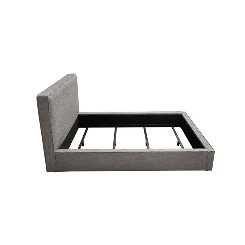 Diamond Sofa Cloud Queen Size Bed Grey