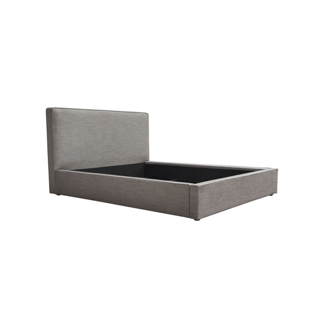 Diamond Sofa Cloud Queen Size Bed Grey