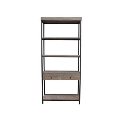 Diamond Sofa Sequoia Tall Shelf Unit w/ 2 Drawers