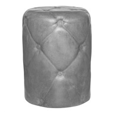 Moe's Home Collection Irony Outdoor Stool Grey