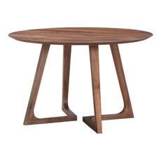 Moe's Home Collection Godenza Dining Table Round Walnut