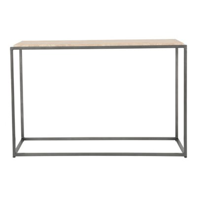 Moe's Home Collection Winslow Marble Console Table Cappuccino