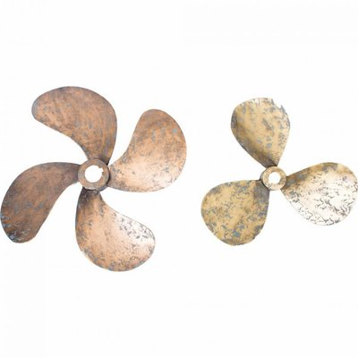 Moe's Home Collection Propellers Wall Decor Set Of 2