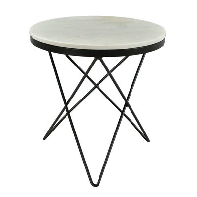 Moe's Home Collection Haley Side Table Black Base