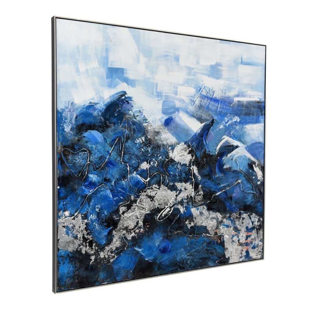 Moe's Home Collection Blue Ocean Wall Decor