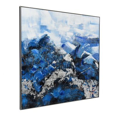 Moe's Home Collection Blue Ocean Wall Decor