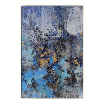 Moe's Home Collection Dreams In Blue Wall Decor