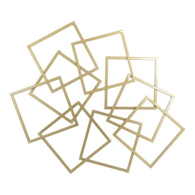Moe's Home Collection Quad Wall Art Gold