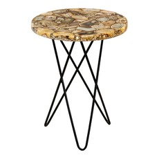 Moe's Home Collection Natura Agate Accent Table