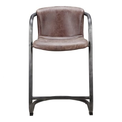 Moe's Home Collection Freeman Counter Stool Light Brown-M2