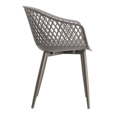 Moe's Home Collection Piazza Outdoor Chair Grey-M2