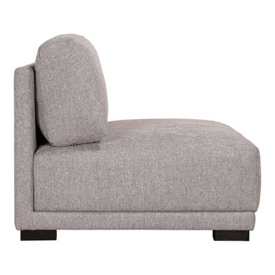 Moe's Home Collection Romeo Slipper Chair Grey