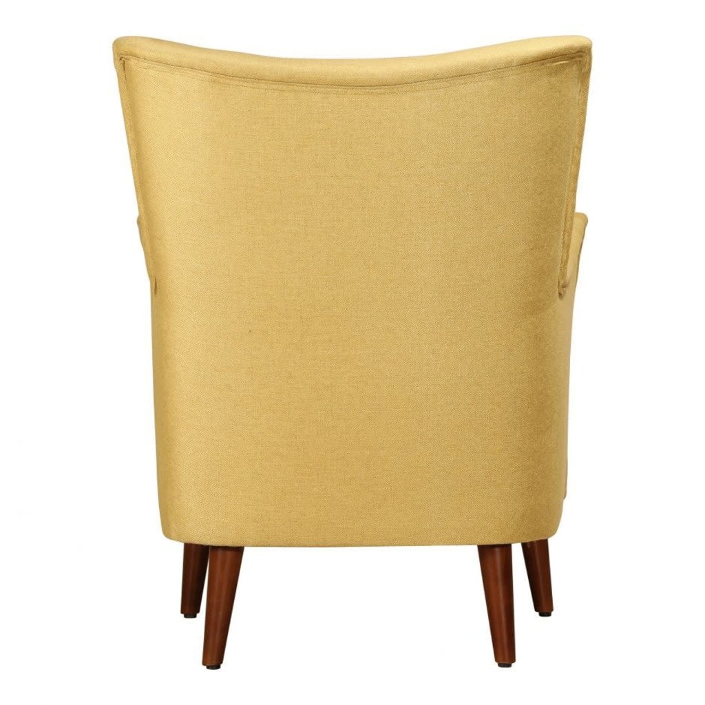 Moe's Home Collection Arden Arm Chair Charteuse