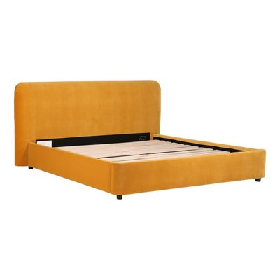 Moe's Home Collection Samara King Bed Mustard