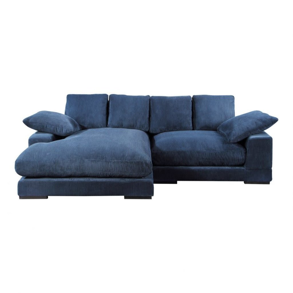 Moe's Home Collection Plunge Sectional Navy