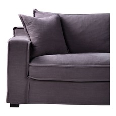 Moe's Home Collection Chill Sectional Grey Right