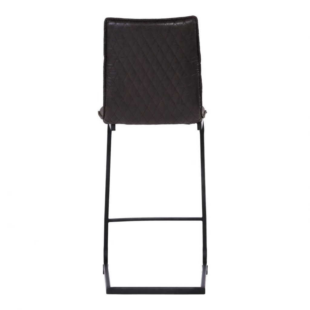 Moe's Home Collection Radiant Barstool Black-M2