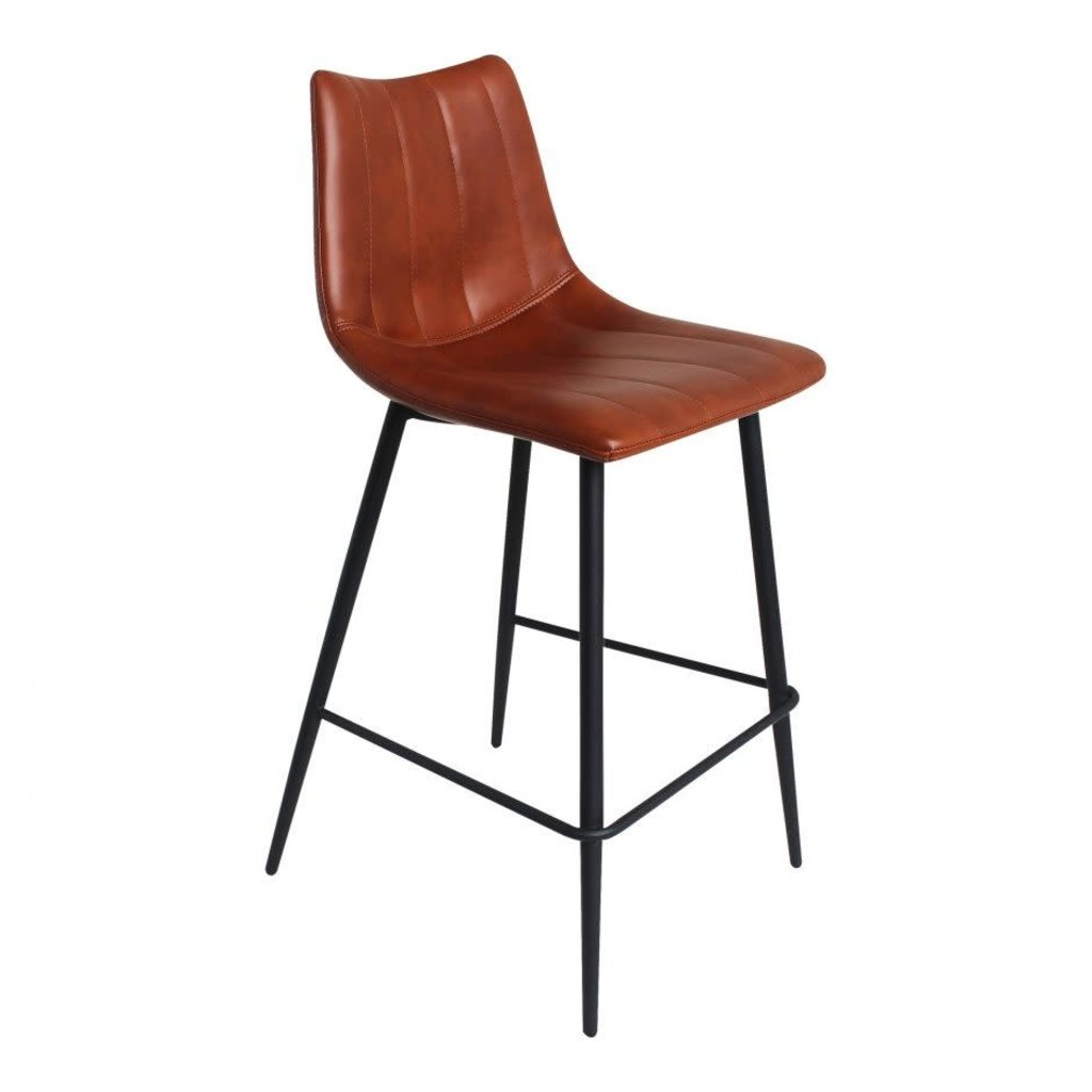Moe's Home Collection Alibi Counter Stool Brown-M2