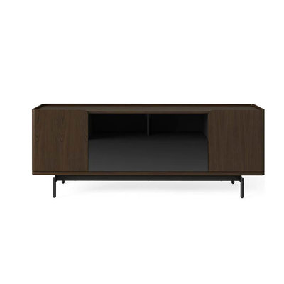 BDI Radius Toasted Walnut Media Cabinet