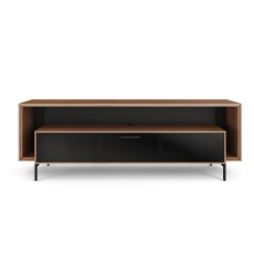 BDI Cavo Natural Walnut Triple Wide Cabinet