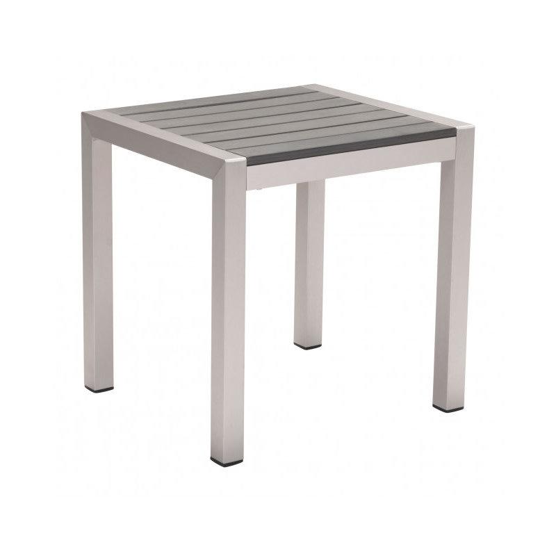 Zuo Modern Cosmopolitan Side Table B. Aluminum