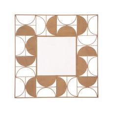 Zuo Modern Decade Gold Mirror Gold