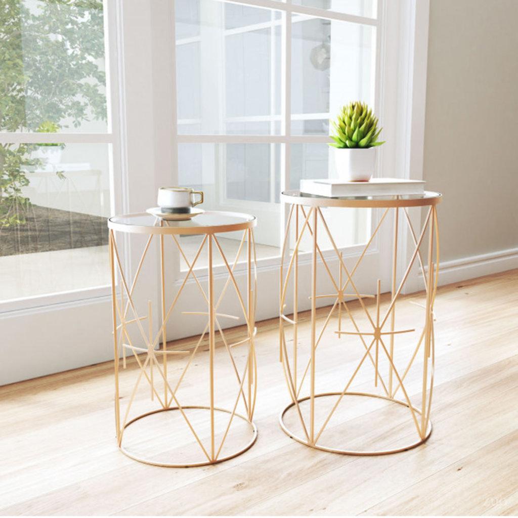 Zuo Modern Hadrian Side Table Set