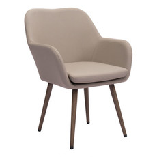 Zuo Modern Pismo Dining Chair Taupe