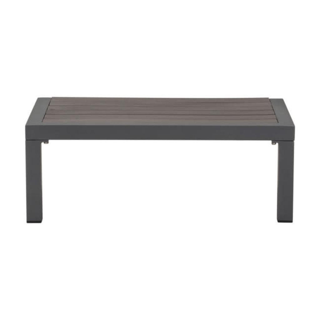 Zuo Modern Santorini Side Table Dark Gray